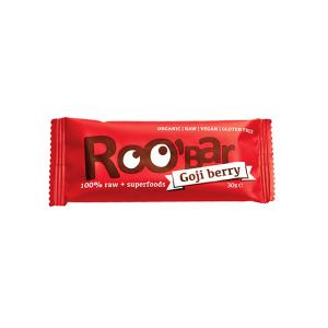 Organic Raw Bar with Goji Berries 30g | Roobar