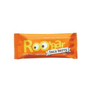 Organic Raw Bar with Inca Berry and Orange 30g | Roobar