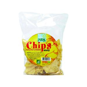 Nachos Corn Chips with Cheese 125g | Organic Snack Sugar Free | Pural