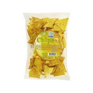 Nachos Τσιπς Καλαμποκιού με Φυσική Γεύση 125g | Βιολογικό Vegan Σνακ Χωρίς Ζάχαρη | Purall