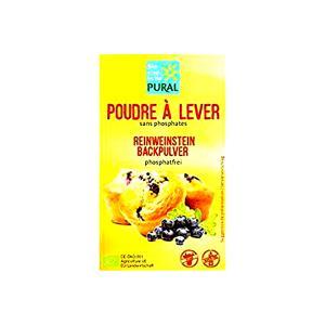 Gluten Free Baking Powder 3x21g | Vegan Organic | Pural