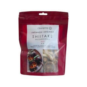 Αποξηραμένα Μανιτάρια Shiitake 40g| Βιολογικά Vegan Χωρίς Αλάτι Υψηλή Πρωτεΐνη | Clearspring