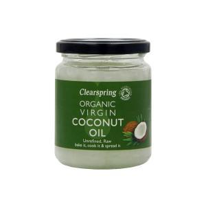 Organic Virgin Coconut Oil 200g |Unrefined Vegan Raw | Clearspring