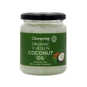 Organic Virgin Coconut Oil 400g |Unrefined Vegan Raw | Clearspring