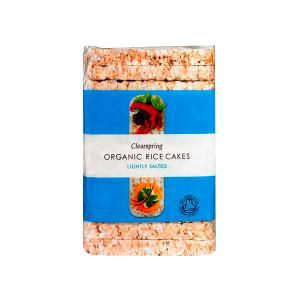 Ρυζογκοφρέτες Oλικής με Αλάτι Χωρίς Γλουτένη 130g | Βιολογικό Vegan Σνακ Χωρίς Ζάχαρη | Clearspring