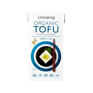 Organic Tofu Gluten Free 300g | Vegan No Salt No Sugar | Clearspring