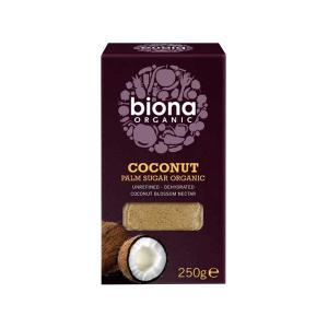 Coconut Palm Sugar 250g | Organic Vegan Unrefined Sweetener | Biona