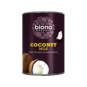 Coconut Milk 400ml | Organic Vegan No Added Sugar | Biona