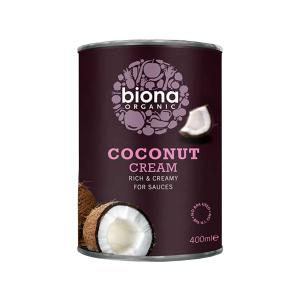 Coconut Cream 400ml | Organic Vegan No Added Sugar | Biona