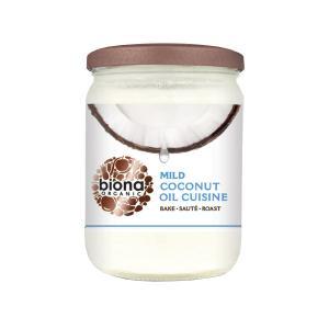 Coconut Oil Cuisine Odourless 470ml | Organic Vegan | Biona