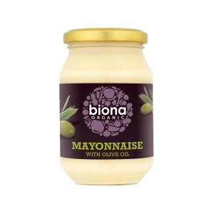 Mayonnaise with Olive Oil and Eggs 230g | Organic No Added Sugar | Biona