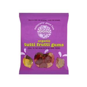 Ζελεδάκια Φρούτων Tutti Frutti Χωρίς Γλουτένη 75g | Βιολογικά Vegan | Biona