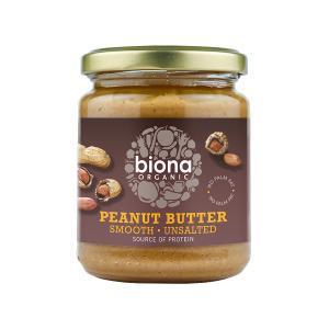 Φυστικοβούτυρο Smooth Χωρίς Αλάτι 250g | Βιολογικό Vegan | Biona