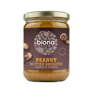 Φυστικοβούτυρο Smooth Χωρίς Αλάτι 500g | Βιολογικό Vegan | Biona