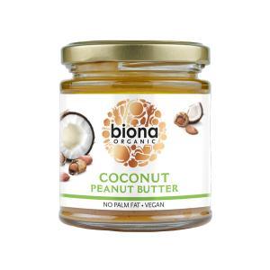 Φυστικοβούτυρο με Καρύδα 170g | Βιολογικό Vegan | Biona