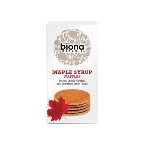 Βάφλες με Σιρόπι Σφενδάμου 175g | Βιολογικό Vegan Σνακ | Biona