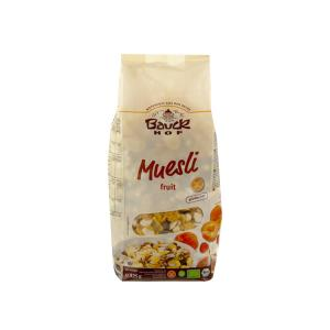 Gluten Free Muesli with Fruits 325g | Organic Vegan Cereals | Bauckhof