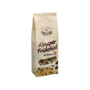 Gluten Free Muesli with Dark Chocolate 300g | Organic Vegan Cereals | Bauckhof