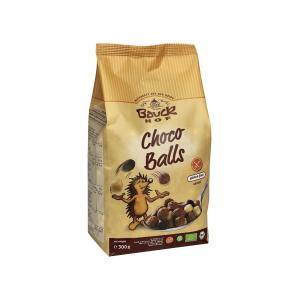 Μπαλίτσες Δημητριακών με Σοκολάτα Χωρίς Γλουτένη 300g | Βιολογικά Vegan Δημητριακά | Bauckhof