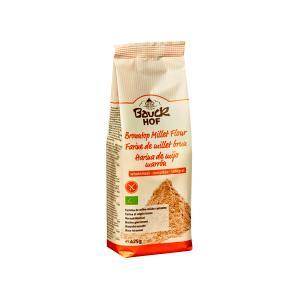 Gluten Free Wholemeal Browntop Millet Flour 425g | Organic Vegan | Bauckhof