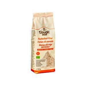 Gluten Free Wholemeal Buckwheat Flour 500g | Organic Vegan | Bauckhof
