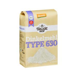 Αλεύρι Dinkel Λευκό Τ630 Tύπου Μ 1Kg | Βιολογικό Vegan Αλεύρι| Bauckhof