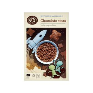 Star Shaped Chocolate Cereals Gluten Free 300g | Organic Vegan | Doves