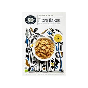 Crunchy Fibre Flakes 300g | Organic Vegan Gluten Free | Doves