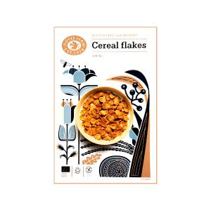 Cereal Flakes with Rice and Buckwheat Gluten Free 375g | Organic Vegan | Doves