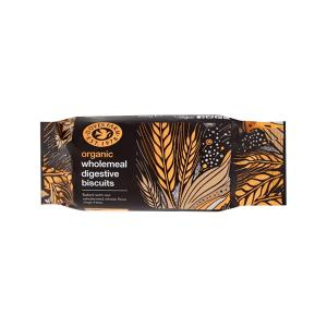Wholewheat Digestive Biscuits 200g | Organic Vegan | Doves