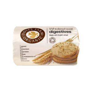 Wholewheat Digestive Biscuits 200g   Organic Vegan   Doves