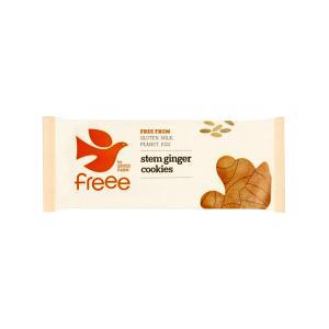 Stem Ginger Cookies 150g | Organic Vegan Gluten Free | Doves