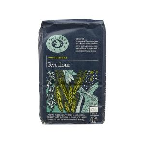Wholegrain Rye Flour 1Kg | Organic Vegan | Doves
