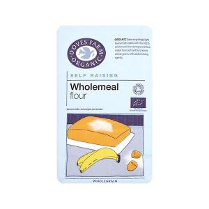 Self Raising Wholemeal  Flour 1Kg | Organic Vegan | Doves