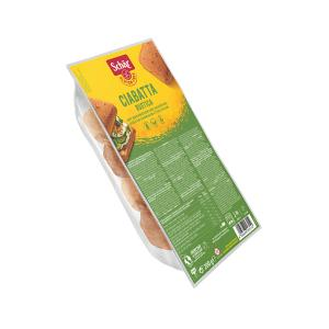 Ciabatta Rustica Ψωμάκια με Φαγόπυρο και Μείγμα Σπόρων  Χωρίς Γλουτένη 200g | Vegan Χωρίς Λακτόζη | Dr Schar