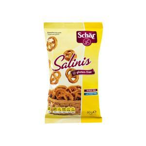 Salinis Πρέτζελ Χωρίς Γλουτένη 60g | Αλμυρό Σνακ Χωρίς Λακτόζη Vegan | Dr Schar