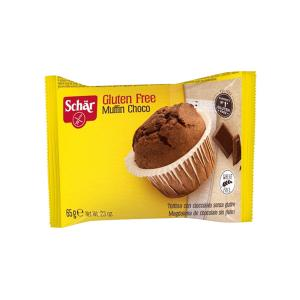 Gluten Free Muffin with Chocolate 65g | Small Cake Wheat Free | Dr Schar