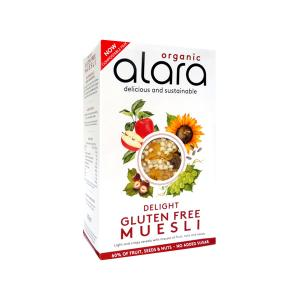 Delight Muesli with Fruits Nuts and Seeds 250g | Organic Gluten Free Vegan No Added Sugar | Alara