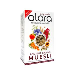 Ancient Grains Muesli 450g | Organic Vegan No Added Sugar No Added Salt | Alara