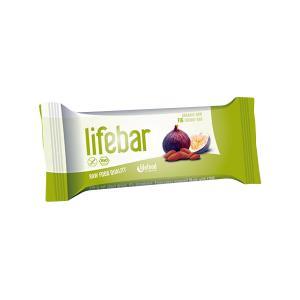 Μπάρα Ενέργειας Σύκο 47g | Ωμό Βιολογικό Vegan Σνακ Χωρίς Γλουτένη | Lifefood