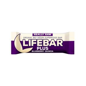 Raw Energy Bar with Blueberry and Quinoa 47g | Raw Organic Vegan Snack Gluten Free | Lifefood