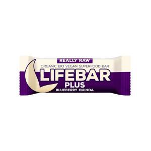 Μπάρα Ενέργειας Μύρτιλο και Κινόα 47g | Ωμό Βιολογικό Vegan Σνακ Χωρίς Γλουτένη | Lifefood