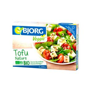 Τόφου Φυσικό 2x200g | Βιολογικό Vegan Tofu Υψηλής Πρωτεΐνης Χωρίς Αλάτι | Bjorg