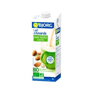 Almond Drink with Calcium No Added Sugar 1L | Organic Vegan Lactose Free | Bjorg