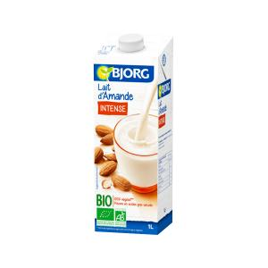 Intense Almond Drink with Calcium 1L | Organic Vegan Lactose Free | Bjorg