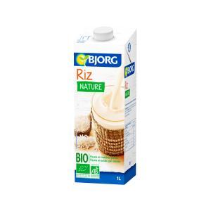 Rice Drink No Added Sugar 1L | Organic Vegan Lactose Free | Bjorg