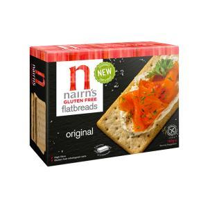 Άζυμο Κράκερ Βρώμης Φυσική Γεύση 150g | Χωρίς Γλουτένη Vegetarian Σνακ | Nairn's