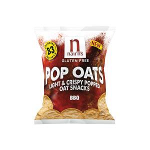BBQ Pop Oats 20g | Gluten Free Vegan Vegetarian Snack | Nairn's