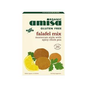 Falafel Mix Gluten Free 160g   Organic Vegan High Protein   Amisa