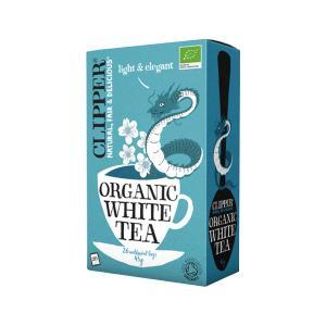 White Tea 26 bags 45g | Organic Vegan No Added Sugar | Clipper